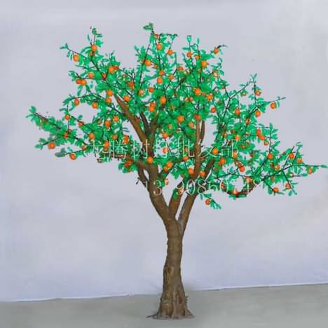 led仿真橙子树 高;; 橙子树图片大全;