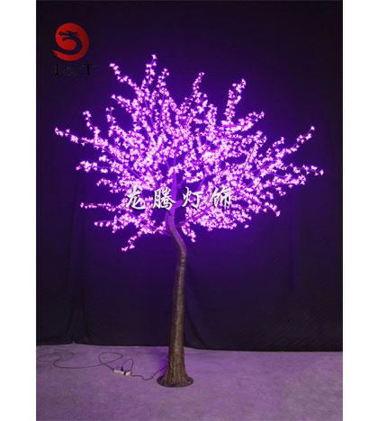 led仿真樱花树 3.2米 粉色