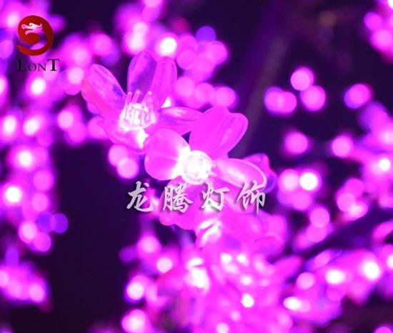 龙腾灯饰 led树灯产品,led樱花树,桃花树